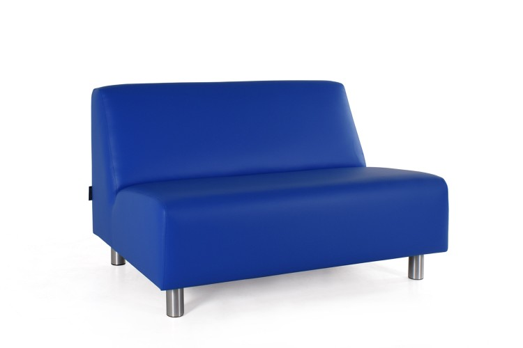 davant lucaz 2 zits loungebank zonder armleuningen rvspootje zithoogte40cm